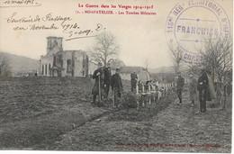 L100H119 - La Guerre 1914 Dans Les Vosges - Nompatelize, Les Tombes Militaires - Bouteiller N°71 - Guerra 1914-18