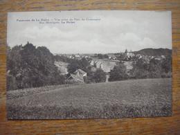 Panorama De LA HULPE - Vue Prise Du Parc Du Centenaire - Rue Montignie ( Panorama Peu Courant ) - La Hulpe