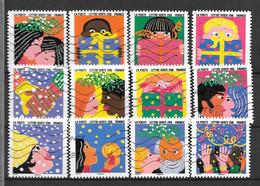 2015 - 145 - 1190 à 1201 - Bonne Année - Used Stamps
