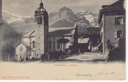 Suisse (Switzerland)  -  Champéry  -  L'Eglise -  CPA Precurseur - Other