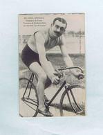 CPA Cyclisme Édition J. BOLDO : N°156 Émile GEORGET Champion De France Vainqueur Bordeaux-Paris Bicyclette La Française - Cycling