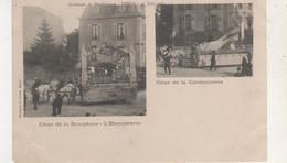 CPA EPINAL CAVALCADE DE BIENFAISSANCE 15 JUIN 1902 CHAR DE LA SCULTURE ET D EBENISTERIE ET CHAR DE LA CORDONNERIE - Altri Comuni