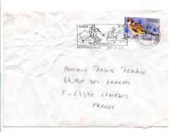 ANDORRE SEUL SUR LETTRE POUR LA FRANCE 1986 - Cartas