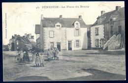 Cpa Du 56  Pénestin  La Place Du Bourg   NOV20-66 - Pénestin