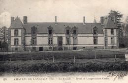 Sains (35) - Le Château De La Langevinière. - Autres Communes