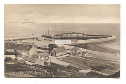 Lyme Regis - The Cobb & Nearby Buildings - 1926 Used Postcard, Local Publisher (Dunster) - Altri
