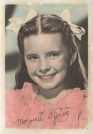 Margaret O'Brien Facimile Child Star Signed PB Postcard - Zonder Classificatie
