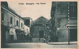 Cartolina - Postcard /  Non Viaggiata - Unsent /  Bisceglie - Via Teatro. - Bisceglie