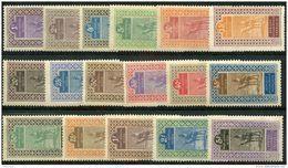 Haut Senegal Et Niger (1914) N 18 à 34 * (charniere) - Neufs