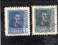 Espagne:année 1938   PA N° 182 Et 183 Oblitérés - Oblitérés