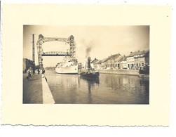 Willebroek - Vaart En Brug - Foto (11,5x8,5cm). - Willebroek
