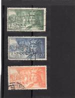 Espagne:année 1952  PA N° 257,258,261 Oblitérés - Oblitérés