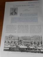 Article Sur L'oeuvre De Jean Bapiste Berlier Tout Scanné TBE Ingenieur Lyon - Science