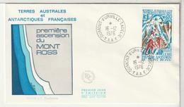 TAAF - FDC - 1976 - ( FDC12) - FDC