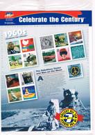 J348  Feuillet Celebrate The Century Dans Son Blister  1960  Faciale Presque $5 - Blocks & Sheetlets