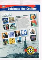 J349  Feuillet Celebrate The Century Dans Son Blister  1970  Faciale Presque $5 - Blocks & Sheetlets