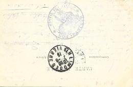 87-cachet Hôpital Temp. Bon Pasteur à Limoges Sur Belle CP Du Viaduc De L'Aiguille En 1915 - 1. Weltkrieg 1914-1918