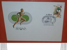 UDSSR 5083 Sport - Diskuswurf -- FDC 18.06.1981 Cover (2 Foto)(37664) - FDC