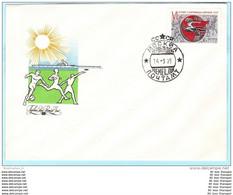 UDSSR SU USSR SOVIET UNION - FDC 4338 Spartakiade 1975 - Sport (Scan)(28699) - FDC