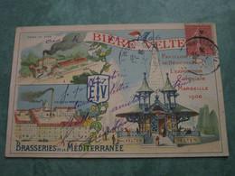 Pavillon De Dégustation à L'Exposition Coloniale De 1906 - BIERE VELTEN - Colonial Exhibitions 1906 - 1922