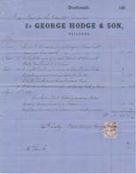 SCOTLAND DUNDONALD George Hodge & Son, Builders 1887 Attractive Nice Old Vintage - United Kingdom