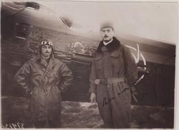 FRANCE : PA . RAID MILITAIRE DE GERARDOT ET CORNILLON .1928 . AUTOGRAPHE CORNILLON . - 1927-1959 Brieven & Documenten