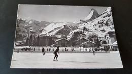 Zermatt - Matterhorn - Eisbahn - Patinoire - VS Valais