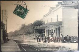 CPA Franois - La Gare - Sonstige Gemeinden