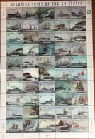 Marshall Islands 1997 Fighting Ships Extra Large Sheetlet MNH - Benin – Dahomey (1960-...)