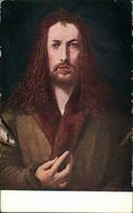 Ansichtskarte  Portrait Du Peintre/Albrecht Dürer: Selbstbildnis 1500/1930 - Schilderijen