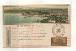 Le Panorama De Nice (carte Gaufrée) - Viste Panoramiche, Panorama
