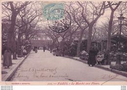 D75  PARIS 4 ème Le Marché Aux Fleurs - Distrito: 04