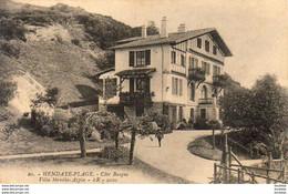 D64  HENDAYE PLAGE    Villa Mendia Azpia - Hendaye