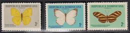 DOMINIQUE - Faune, Papillons - MNH - Dominikanische Rep.