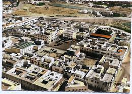 Carte Postale : Maroc : AGADIR : Vue Aérienne Sur Talborjt, Au Centre , Le Grand Hôtel Et Place Du Pacha - Agadir