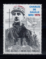 TAAF - YV PA 118 N** Charles De Gaulle Cote 9,50 Euros - Posta Aerea
