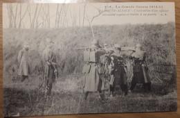 Carte Postale La Grande Guerre 1914-15 En Haute Alsace L'exécution D'un Officier Allemand Espion - Andere