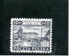 POLOGNE 1949 * - Nuevos