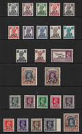 MUSCAT 1944 MOUNTED MINT COLLECTION OF SETS SG 1/15, O1/O10 Cat £58 - Sin Clasificación