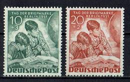 Berlin 1951 ** - Unused Stamps
