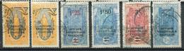 20821 CONGO Français N°98, 101/3, 107°/(*)(MH) Timbres De 1907 Surchargés   1926-30  B/TB - Usati