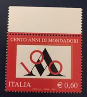 2007 - Italia - Cent'anni Di Mondadori. E.0,60 - 2001-10:  Nuovi