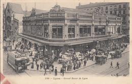 Commerce - Magasins - Halles - Grand Bazar De Lyon - Tramway Picon - Lyon Oblitération 1905 - Negozi