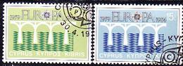 Zypern Cyprus Chypre - Europa (MiNr: 611/2) 1984 - Gest Used Obl - 1984