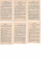 Série Compléte De 12 Images Sur Le Crédo. Coppin-Goisse, Ath - Devotieprenten