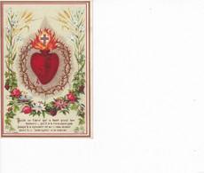 PIEUSE PROMESSE DE N.S JESUS -CHRIST ,EN FAVEUR DES PERSONNES DEVOUEES A SON DIVIN COEUR  COULEUR  REF 69639 - Devotion Images
