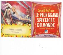 Waremme CINEMA Variété Publicité Pour Le Film Le Plus Grand Spectacle Du Monde - Waremme