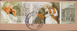 2020 Poland 100th Anniv Of The Birth Of Pope Saint John Paul II Joint Issue With Slovak Post Office With Tab Cancel P61 - Usati