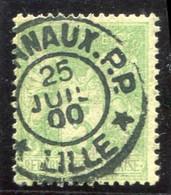 JOURNAUX P.P. / LILLE Sur 5c Sage (1900) - 1898-1900 Sage (Tipo III)