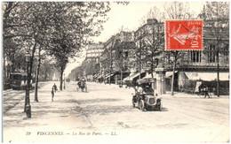94 VINCENNES - La Rue De Paris - Vincennes